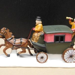 Vintage Department 56 Heritage Village Dover Coach